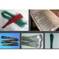 Quality U Type PVC Coated Galvanized Wire , Dia 1.2mm / 1.4mm Galvanized Iron Wire for sale