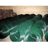 Quality PVC Coated Galvanized Wire For Freeways / Tennis Courts , 0.8mm / 1mm Core Wire Dia for sale
