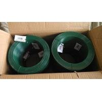 Quality High Flexibility Plastic Coated Chicken Wire Big Coil Black / Yellow / Green for sale