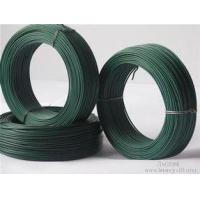 Quality Binding / Construction PVC Coated Galvanized Wire Annealed Green Wire for sale