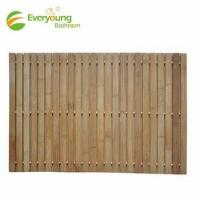Quality Hot Sale Anti-slip Folding Bamboo bath mat for sale