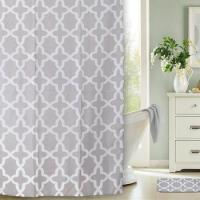 Matching Design Bath Rug and Shower Curtain Set for Bathroom