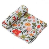 Buy cheap Muslin swaddle Blankets,baby receiving blankets,100% Organic Cotton infant wrap from wholesalers
