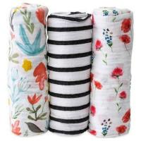 Buy cheap Bamboo Muslin Swaddle Square Blankets from wholesalers