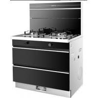 Quality Integrated Cooker with Gas Hob Disinfection Cabinet and Range Hood for sale
